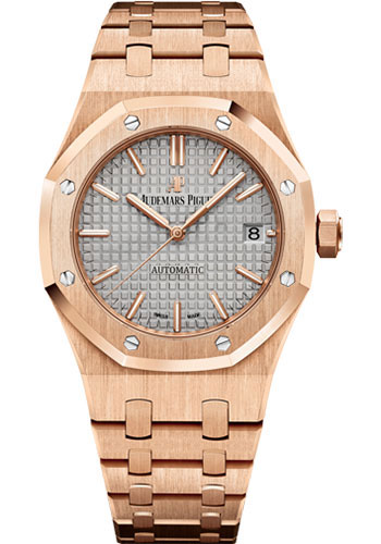 Audemars Piguet Watches - Royal Oak Self Winding 37mm - Pink Gold - Style No: 15450OR.OO.1256OR.01