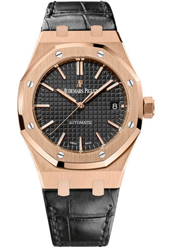 Audemars Piguet Watches - Royal Oak Self Winding 37mm - Pink Gold - Style No: 15450OR.OO.D002CR.01