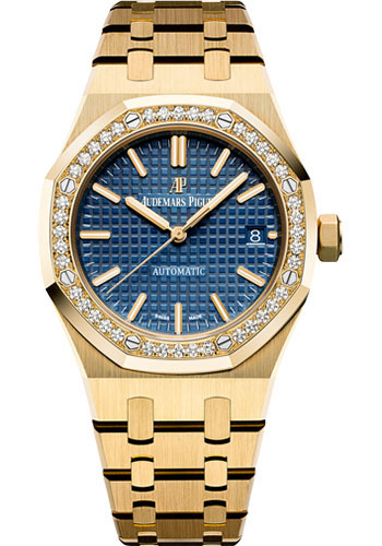 Audemars Piguet Watches - Royal Oak Self Winding 37mm - Yellow Gold - Style No: 15451BA.ZZ.1256BA.01