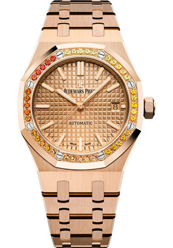 Audemars Piguet Watches - Royal Oak Self Winding 37mm - Pink Gold - Style No: 15451OR.YY.1256OR.01