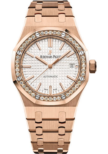Audemars Piguet Watches - Royal Oak Self Winding 37mm - Pink Gold - Style No: 15451OR.ZZ.1256OR.01.A