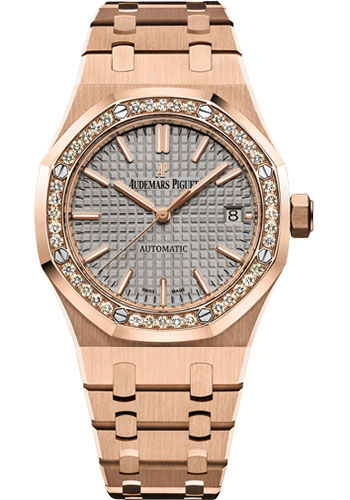 Audemars Piguet Watches - Royal Oak Self Winding 37mm - PInk Gold - Style No: 15451OR.ZZ.1256OR.02