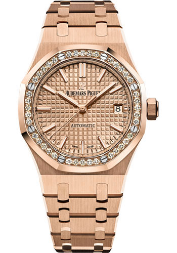 Audemars Piguet Watches - Royal Oak Self Winding 37mm - PInk Gold - Style No: 15451OR.ZZ.1256OR.03