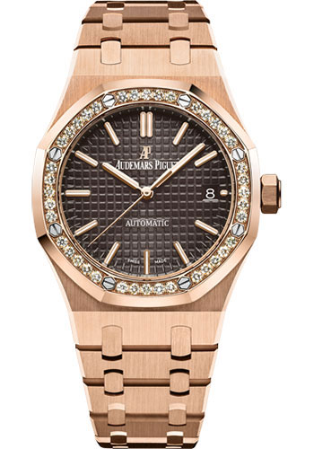 Audemars Piguet Watches - Royal Oak Self Winding 37mm - PInk Gold - Style No: 15451OR.ZZ.1256OR.04