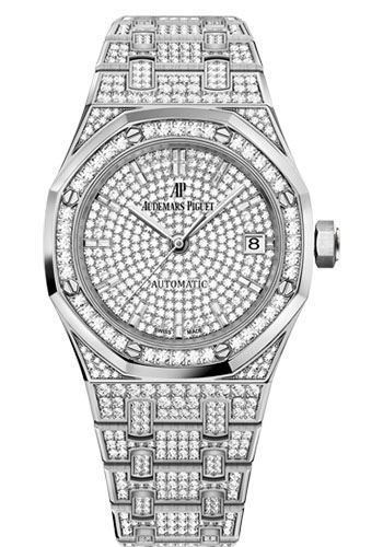 Audemars Piguet Watches - Royal Oak Self Winding 37mm - White Gold - Style No: 15452BC.ZZ.1258BC.01