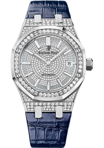 Audemars Piguet Watches - Royal Oak Self Winding 37mm - White Gold - Style No: 15452BC.ZZ.D019CR.01