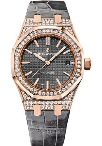 Audemars Piguet Watches - Royal Oak Self Winding 37mm - Pink Gold - Style No: 15452OR.ZZ.D003CR.01