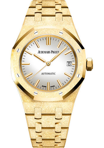 Audemars Piguet Watches - Royal Oak Self Winding 37mm - Yellow Gold - Style No: 15454BA.GG.1259BA.02