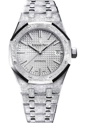 Audemars Piguet Watches - Royal Oak Self Winding 37mm - White Gold - Style No: 15454BC.GG.1259BC.01