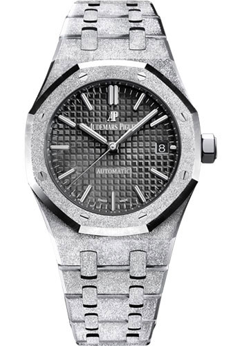 Audemars Piguet Watches - Royal Oak Self Winding 37mm - White Gold - Style No: 15454BC.GG.1259BC.03