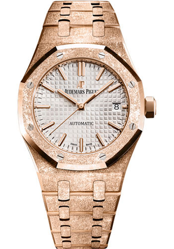 Audemars Piguet Watches - Royal Oak Self Winding 37mm - Pink Gold - Style No: 15454OR.GG.1259OR.01