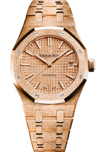 Audemars Piguet Watches - Royal Oak Self Winding 37mm - Pink Gold - Style No: 15454OR.GG.1259OR.03