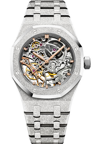Audemars Piguet Watches - Royal Oak Self Winding 37mm - White Gold - Style No: 15466BC.GG.1259BC.01