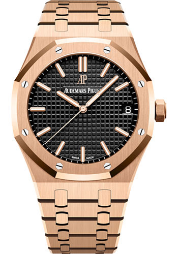 Audemars Piguet Watches - Royal Oak Self Winding 41mm - Pink Gold - Style No: 15500OR.OO.1220OR.01
