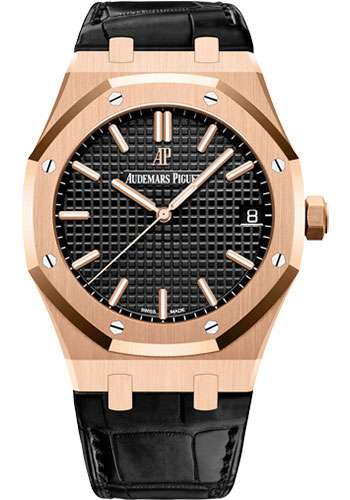 Audemars Piguet Watches - Royal Oak Self Winding 41mm - Pink Gold - Style No: 15500OR.OO.D002CR.01