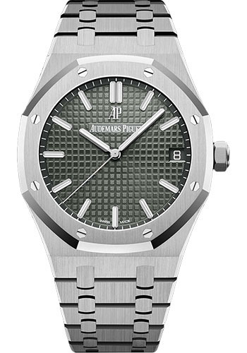 Audemars Piguet Watches - Royal Oak Self Winding 41mm - Stainless Steel - Style No: 15500ST.OO.1220ST.02