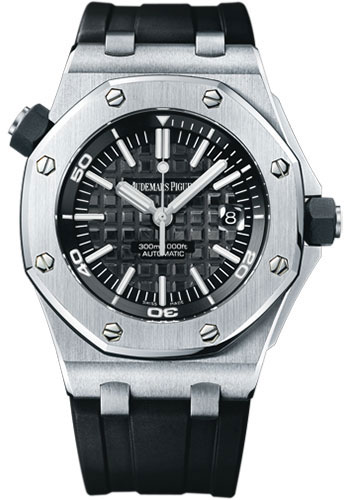Audemars Piguet Watches - Royal Oak Offshore Diver - Style No: 15703ST.OO.A002CA.01