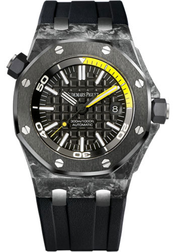 Audemars Piguet Watches - Royal Oak Offshore Diver - Style No: 15706AU.OO.A002CA.01