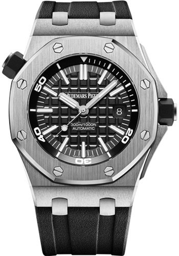 Audemars Piguet Watches - Royal Oak Offshore Diver - Style No: 15710ST.OO.A002CA.01