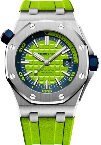 Audemars Piguet Watches - Royal Oak Offshore Diver - Style No: 15710ST.OO.A038CA.01