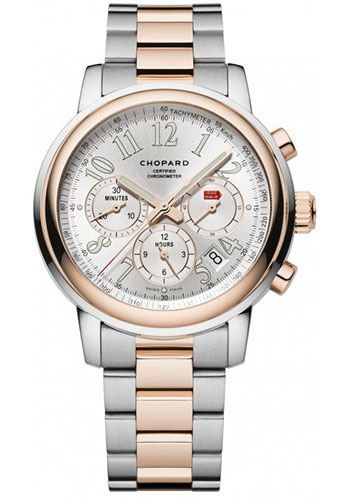 Chopard Watches - Mille Miglia Chronograph Steel and Gold - Style No: 158511-6001