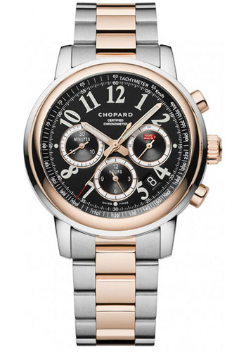 Chopard Watches - Mille Miglia Chronograph Steel and Gold - Style No: 158511-6002