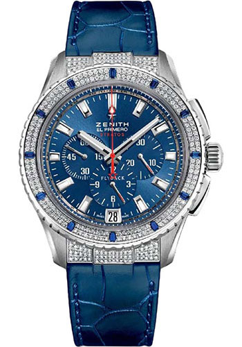Zenith Watches - Stratos Flyback Chronograph - Style No: 16.2063.405/51.C715