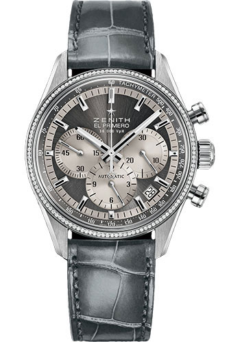 Zenith Watches - El Primero Lady 36'000 VPH - 38mm Stainless Steel - Style No: 16.2150.400/21.C706
