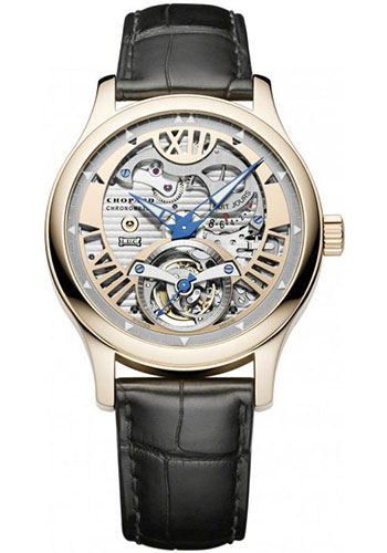 Chopard Watches - L.U.C Tourbillon Tech Steel Wings - Style No: 161901-5002