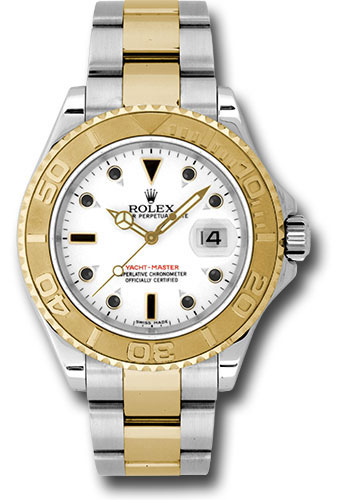 Rolex Watches - Yacht-Master 40 mm - Steel and Yellow Gold - Style No: 16623 w