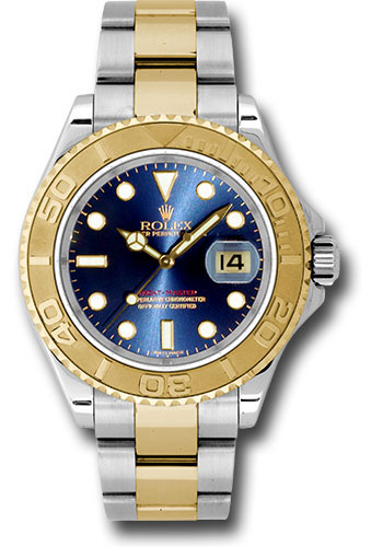 Rolex Watches - Yacht-Master 40 mm - Steel and Yellow Gold - Style No: 16623 b