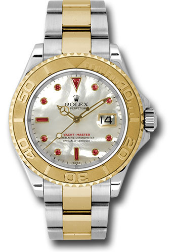 Rolex Watches - Yacht-Master 40 mm - Steel and Yellow Gold - Style No: 16623 mr