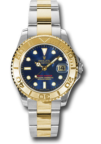 Rolex Watches - Yacht-Master 35 mm - Steel and Yellow Gold - Style No: 168623 bl