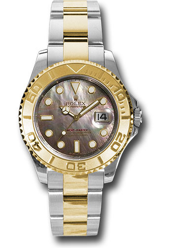 Rolex Watches - Yacht-Master Mid-Size Steel and Gold - Style No: 168623 dkm