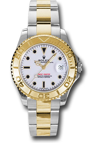Rolex Watches - Yacht-Master Mid-Size Steel and Gold - Style No: 168623 w