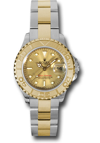 Rolex Watches - Yacht-Master 29 mm - Steel and Yellow Gold - Style No: 169623 ch