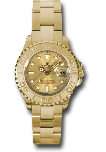 Rolex Watches - Yacht-Master Lady Gold - Style No: 169628 ch