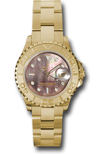 Rolex Watches - Yacht-Master Lady Gold - Style No: 169628 dkm