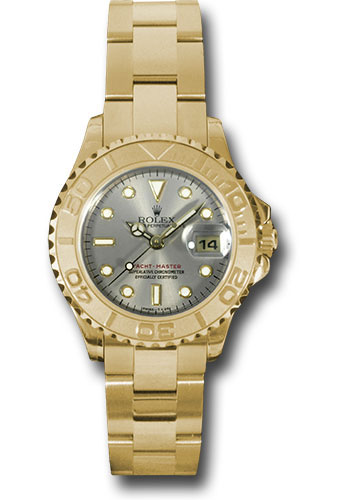 Rolex Watches - Yacht-Master Lady Gold - Style No: 169628 g
