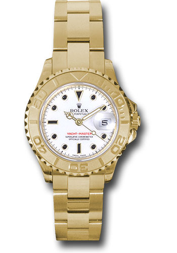 Rolex Watches - Yacht-Master Lady Gold - Style No: 169628 w