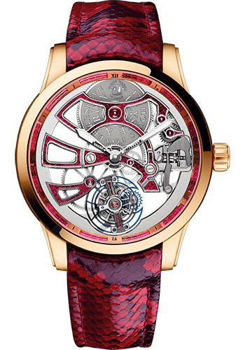 Ulysse Nardin Watches - Classico Skeleton Tourbillon - Rose Gold - Style No: 1706-129/06