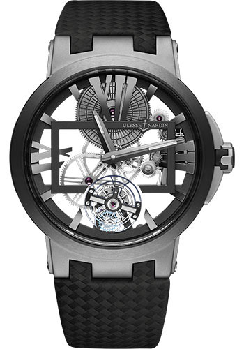 Ulysse Nardin Watches - Executive Skeleton Tourbillon - Style No: 1713-139