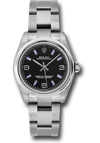 Rolex Watches - Oyster Perpetual No-Date 31mm - Domed Bezel - Style No: 177200 bkablio