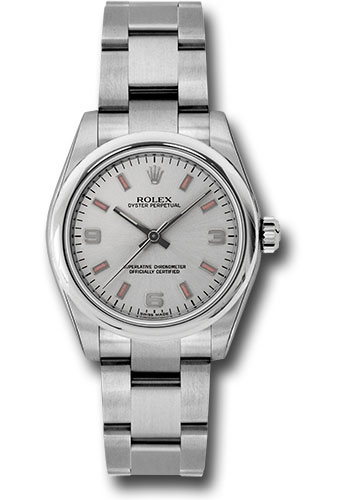 Rolex Watches - Oyster Perpetual No-Date 31mm - Domed Bezel - Style No: 177200 spio