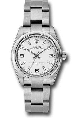 Rolex Watches - Oyster Perpetual No-Date 31mm - Domed Bezel - Style No: 177200 waio