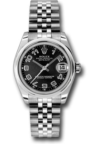 Rolex Watches - Datejust 31 Stainless Steel - Domed Bezel - Jubilee - Style No: 178240 bkcaj