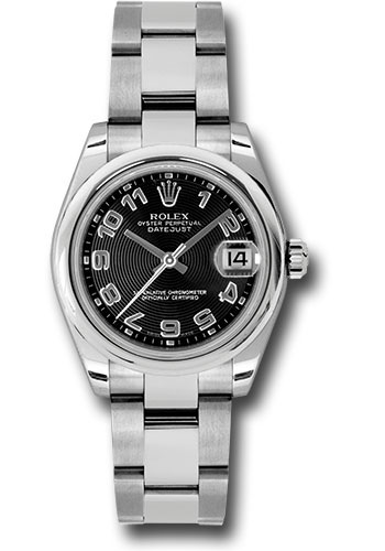 Rolex Watches - Datejust 31 Stainless Steel - Domed Bezel - Oyster - Style No: 178240 bkcao