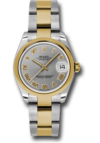Rolex Watches - Datejust 31mm - Steel and Gold Yellow Gold - Domed Bezel - Oyster - Style No: 178243 gro
