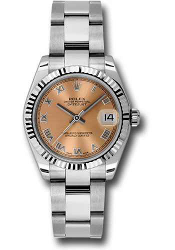 Rolex Watches - Datejust 31mm - Steel Fluted Bezel - Oyster Bracelet - Style No: 178274 pro