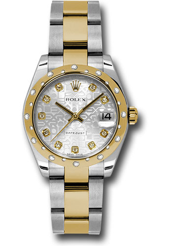 Rolex Watches - Datejust 31mm - Steel and Gold Yellow Gold - 24 Dia Bezel - Oyster - Style No: 178343 sjdo